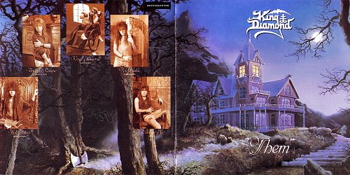 King Diamond - Them (1988) Remastered (1997) Russia (2008)