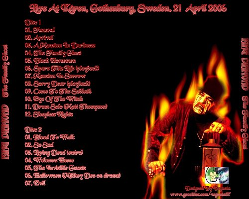 King Diamond - The Family Ghost (Live At Karen Gothenburg Sweden 21.04.2006) 2CD
