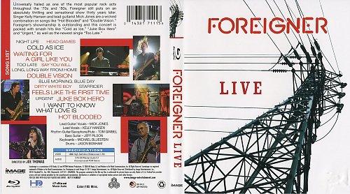 Foreigner - Live (2011)