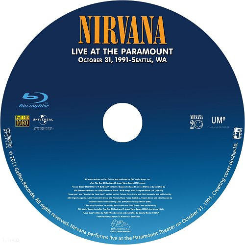 Nirvana - Live at the Paramount (1991)