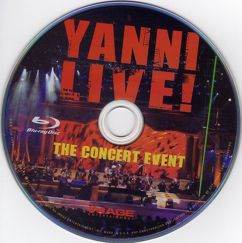 Yanni - Live! The Concert Event (2006)