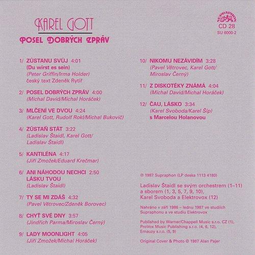 Karel Gott - Me Pisne CD28 - Posel Dobrych Zprav (2009)
