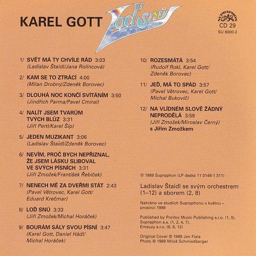 Karel Gott - Me Pisne CD29 - Lod Snu (2009)