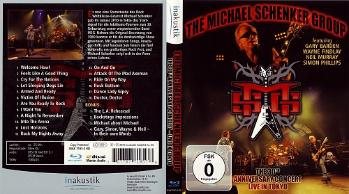 The Michael Schenker Group - The 30th Anniversary Concert - Live in Tokyo (2010)