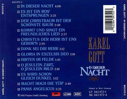 Karel Gott - In Dieser Nacht (1990)
