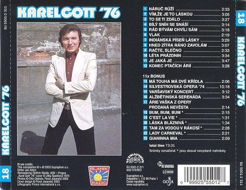 Karel Gott - Karel Gott '76 (2003)