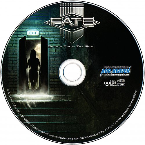 Fate - Ghosts From The Past (2011) Made in EEC (Germany)