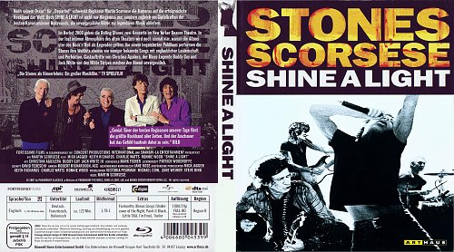 The Rolling Stones: Да будет свет / Shine A Light (2008)