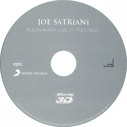 Joe Satriani - Satchurated (2012)