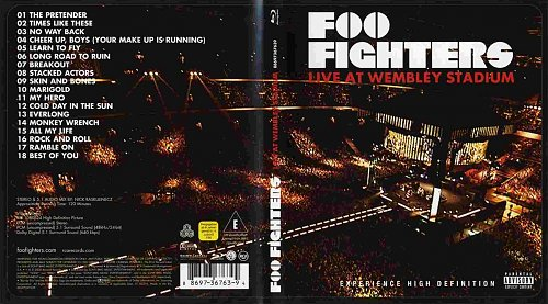 Foo Fighters - Live At Wembley Stadium (2008)
