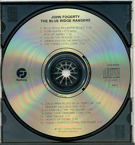 John Fogerty-The Blue Ridge Rangers (1973,Remastered 1991)