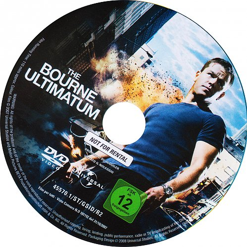 Трилогия Борна / The Bourne Trilogy (2002-2007)