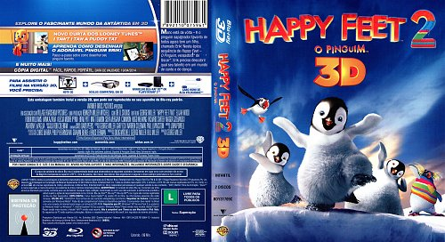 Делай ноги 2 3D / Happy Feet Two 3D / 2011