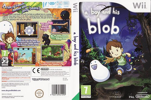 A Boy and His Blob Nintendo Wii
