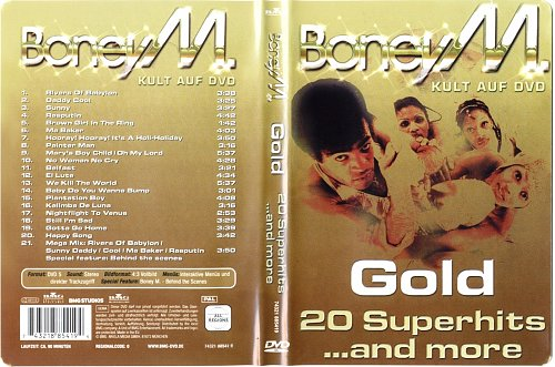 Boney M-Gold. 20 Superhits ...and more 2003