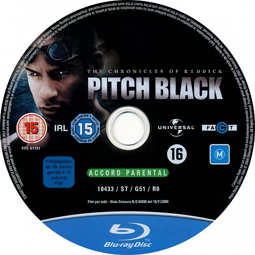 Черная дыра / Pitch Black (2000)