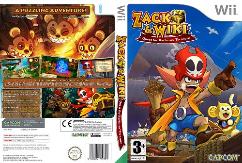 Zack & Wiki: Quest for Barbaros' Treasure Nintendo Wii