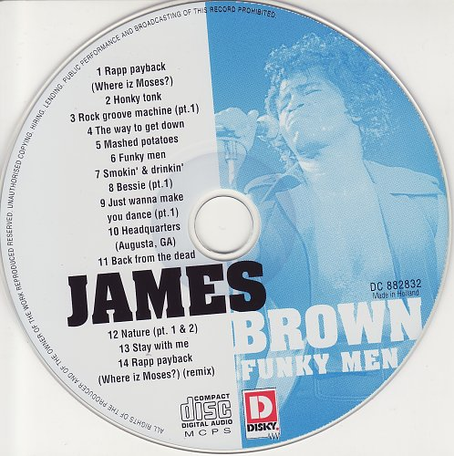 James Brown - Funky Men (1997)