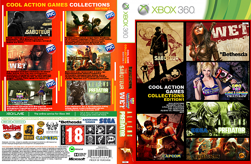 WET+THE SABOTUEUR+ALIENS VS. PREDATOR+BULLETSTORM+LOLLIPOP CHAINSAW+RESIDENT EVIL 5
