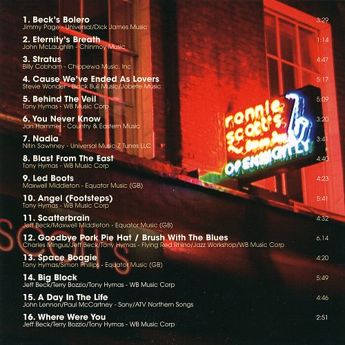 Jeff Beck - Performing This Week ... Live at Ronnie Scott's (2008)