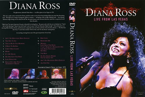 Diana Ross Live from Las Vegas 1979