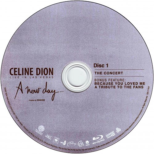Celine Dion - A New Day - Live In Las Vegas R1 (2007) 2BD