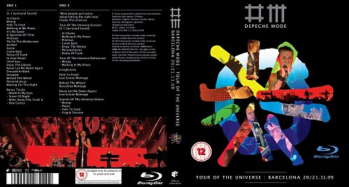 Depeche Mode - Tour of the Universe: Live in Barcelona 20/21.11.2009 (2BD)