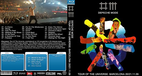 Depeche Mode - Tour of the Universe: Live in Barcelona 20/21.11.2009