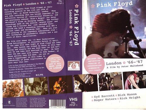 Pink Floyd - 1966-1967 VHS London '66 - '67