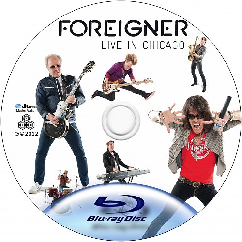 Foreigner - Live In Chicago (2010, 2012)