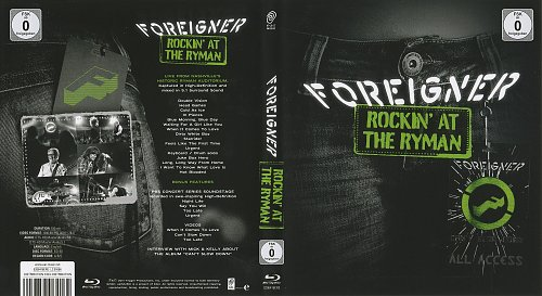 Foreigner - Rockin' at the Ryman (2011)