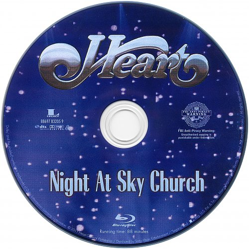 Heart - Night At Sky Church 05.03.2010 (2011)