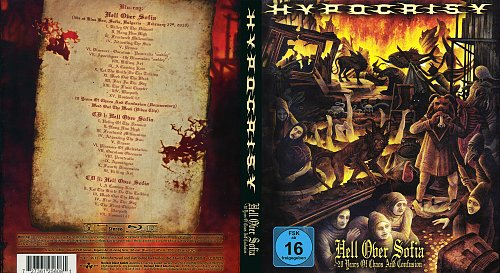 Hypocrisy - Hell Over Sofia - 20 Years Of Chaos And Confusion (2011)