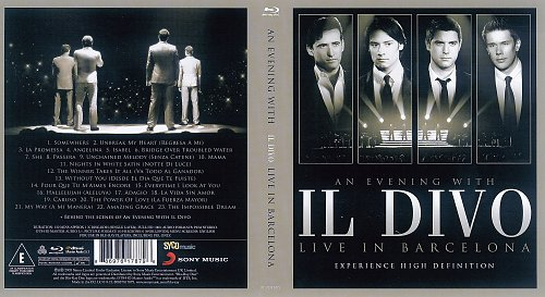 Il Divo - An Evening With Il Divo. Live In Barcelona (2009)