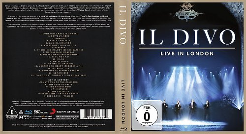 Il Divo - Live In London 02.08.2011 (2011)