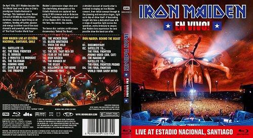 Iron Maiden - En Vivo! Live At Estadio Nacional, Santiago, Chile 10.04.2011 (2012)
