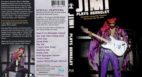 Jimi Hendrix - Jimi Plays Berkeley 30.05.1970 (2012)