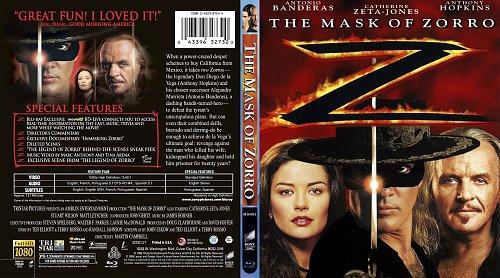Маска Зорро / The Mask of Zorro (1998)