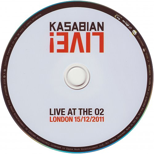 Kasabian - Live! Live At The O2 London 15.12.2011 (2012)
