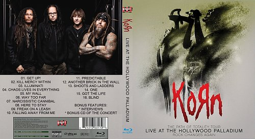 Korn - The Path of Totality Tour - Live at the Hollywood Palladium 06.12.2011 (2012)