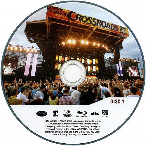V.A. - Crossroads Eric Clapton Guitar Festival Live 26.06.2010 Chicago (2010) 2BD