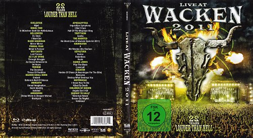 V.A. - Live In Wacken 2011 - 22 Years Louder Then Hell (2012)