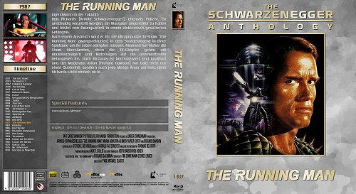Running Man, The (1987) The Schwarzenegger Anthology