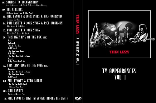 Thin Lizzy - TV Appearances Vol.1