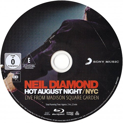 Neil Diamond - Hot August Night / NYC - Live From Madison Square Garden In August 2008 (2009, 2010)