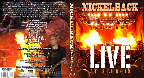Nickelback - Live at Sturgis, South Dacota, USA 2006 (2008)