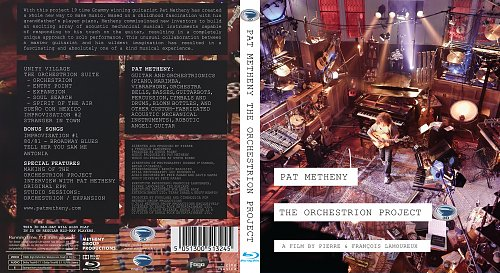 Pat Metheny - The Orchestrion Project 3D (2012)