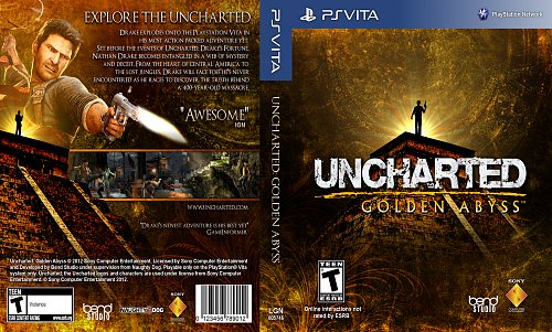 Uncharted: Golden Abyss PSP Vita