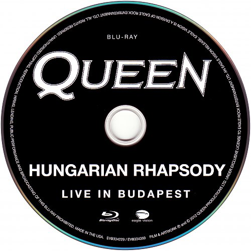 Queen - Hungarian Rhapsody - Live In Budapest 1986 (Remastered 2012)