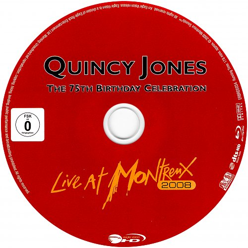 Quincy Jones - The 75th Birthday Celebration - Live At Montreux (2008)